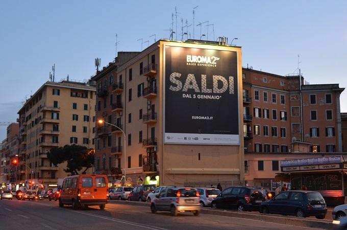 pubblicità cartellonistica Roma